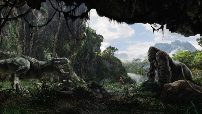 """There's not much humor associated with a dangerous encounter with a giant ape. But in the scene where the ship approaches Skull Island, a Morse code message is received, which is meant to signal the arrest of Jack Black's character, Carl Denham, but the code doesn't actually say that. It really translates to """"Show me […]"""