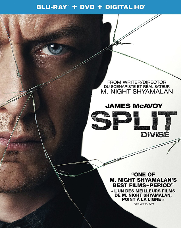 Split New on DVD