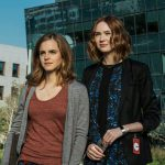 Emma Watson and Karen Gillan in The Circle (2017)