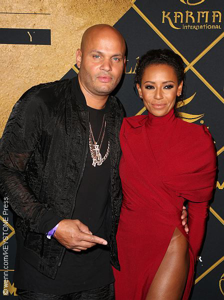 Mel B with husband Stephen Belafonte