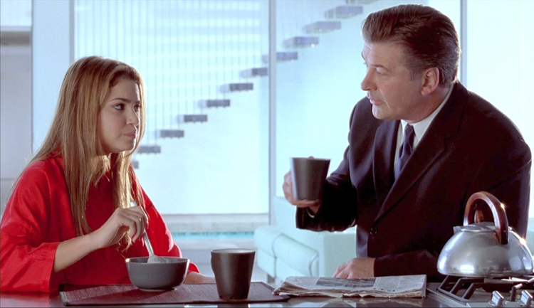 Nikki Reed and Alec Baldwin in Mini's First Time