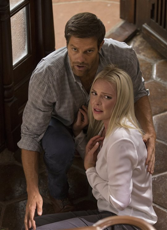 Geoff Stults and Katherine Heigl