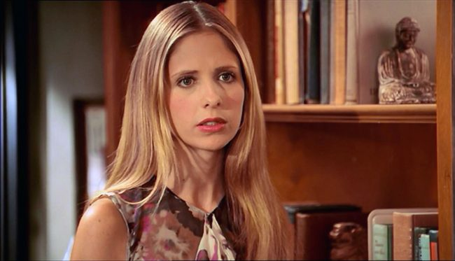 In the TV series Buffy the Vampire Slayer, Buffy Summers (Sarah Michelle Gellar) is one of the longest living vampire slayers, and has returned from death twice, an act that disrupts the magic surrounding the original slayer line. She was a guardian of Hellmouth for years before the town's demise. Buffy is known as a […]
