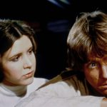 Princess Leia and Luke Skywalker in Star Wars: Episode IV - A New Hope (1977)