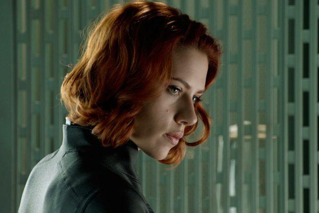 Natasha Romanoff Black Widow The Avengers 2012