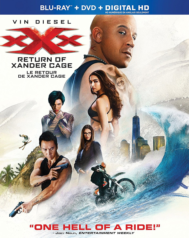 xXx Return of Xander Cage Blu-ray