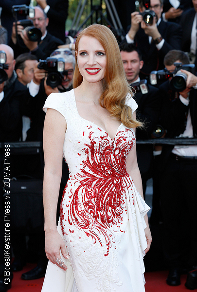 Jessica Chastain at 2017 Cannes Film Festival