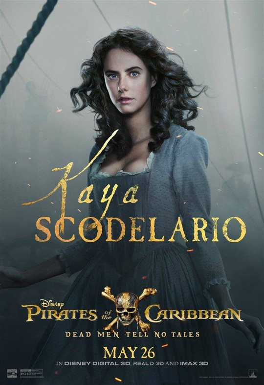 Kaya Scodelario as Carina Smyth