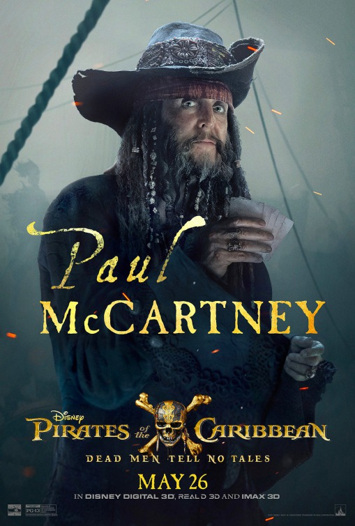 Paul McCartney in Pirates of the Caribbean: Dead Men Tell No Tales