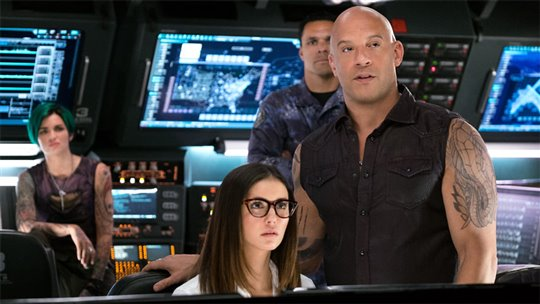 Ruby Rose, Vin Diesel and Nina Dobrev