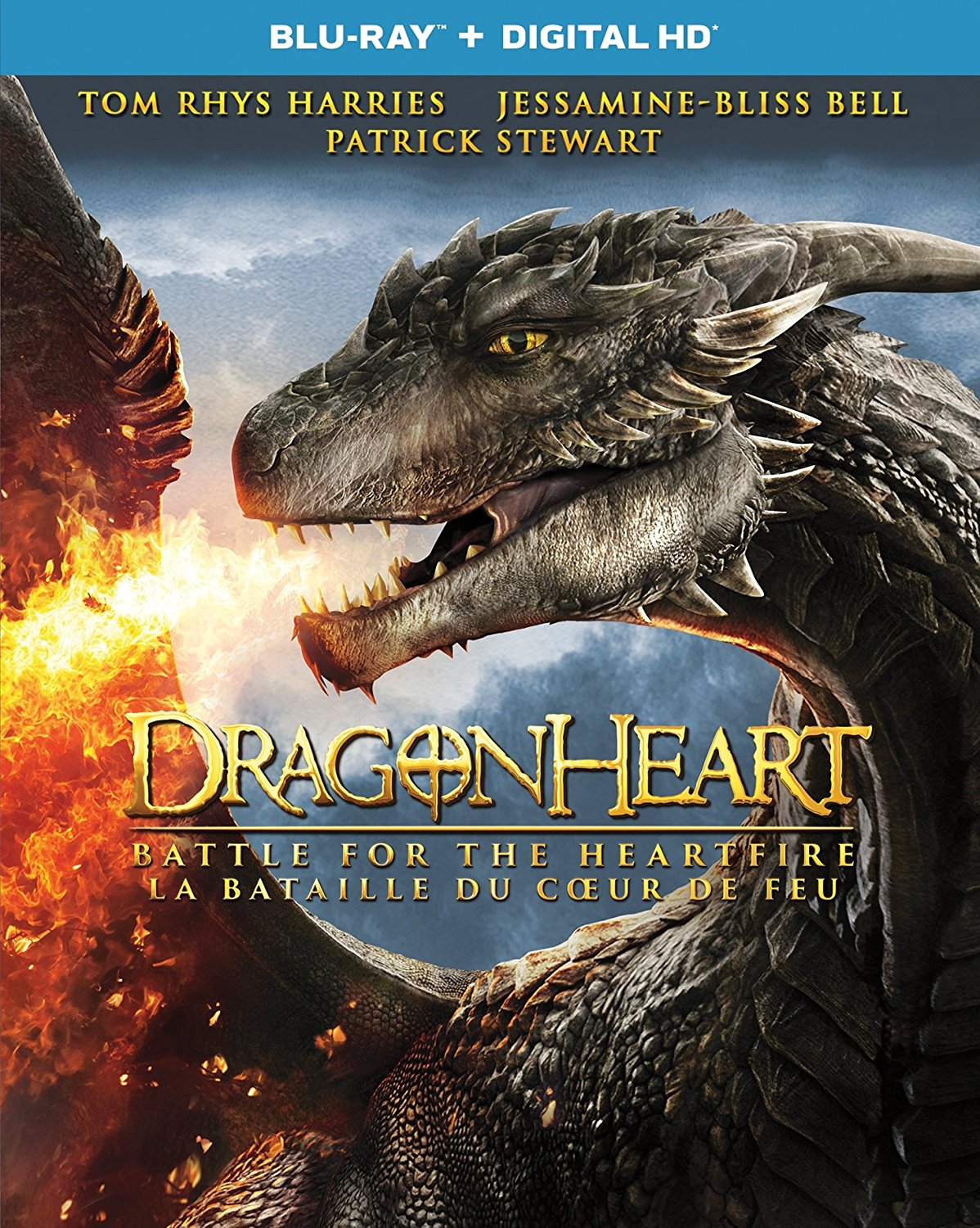 Dragonheart: Battle for the Heartfire Blu-ray