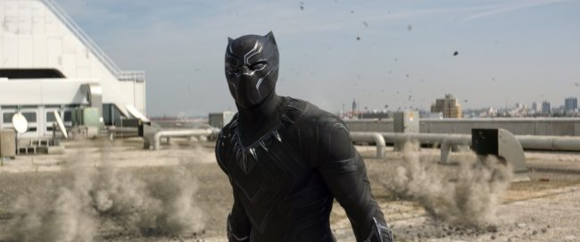 Stealthy, fast and strong, Chadwick Boseman as Black Panther in Captain America: Civil War is an obvious choice for this list. It doesn't hurt that he's got good morals to match his good looks!
