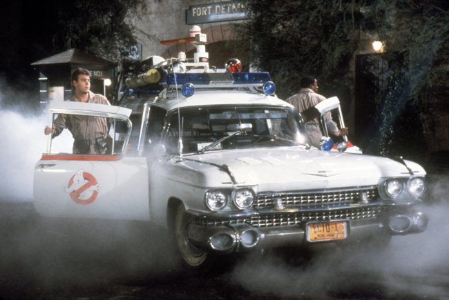 "Ghostbusters' Ecto-1 not only has a memorable look to it (especially considering it's a converted ambulance/hearse) but also has a trademark sound. Who can forget as the hilarious team of paranormal investigators and ghost catchers come barreling down the street with the ""No Ghost"" logo and sirens blaring as the awesome theme song plays over […]"