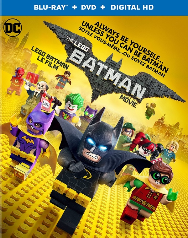 The LEGO Batman Movie now available on Blu-ray combo pack