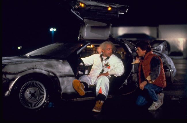 Perhaps one of the most recognized and beloved of on-screen cars, Back to the Future's DeLorean DMC-12 holds a special place in many film fans' hearts. And why not? Who doesn't love a car that takes you through time looking insanely cool while doing it! *cue Huey Lewis and the News*