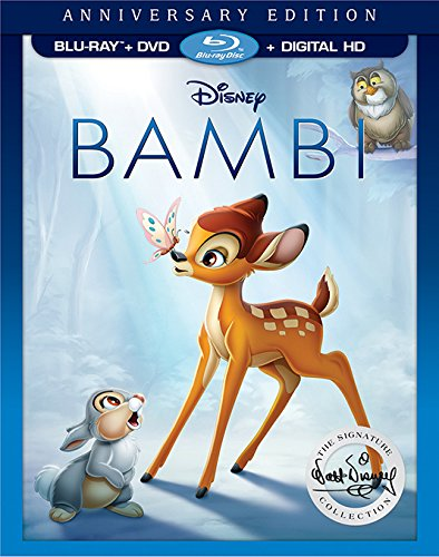 Bambi Anniversary Edition Blu-ray and DVD