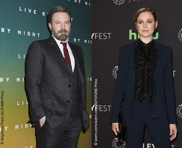 Ben Affleck and Evan Rachel Wood