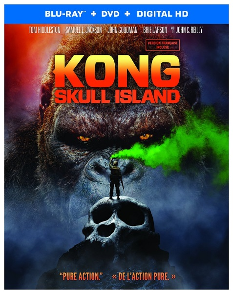 Kong: Skull Island now available on Blu-ray, DVD and Digital HD.