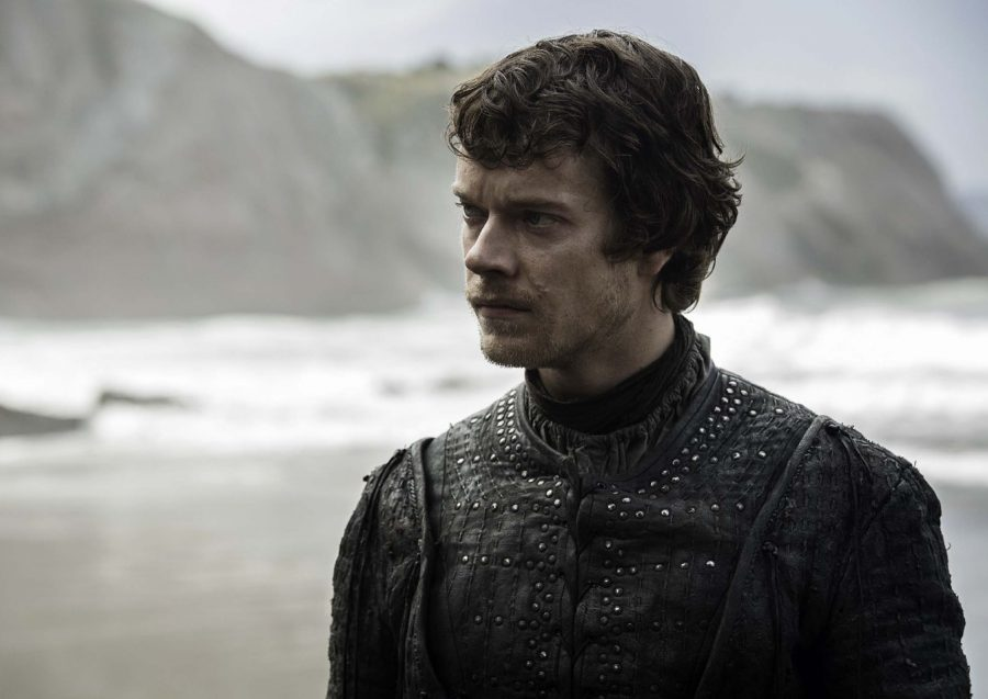 Theon arrives at Dragonstone
