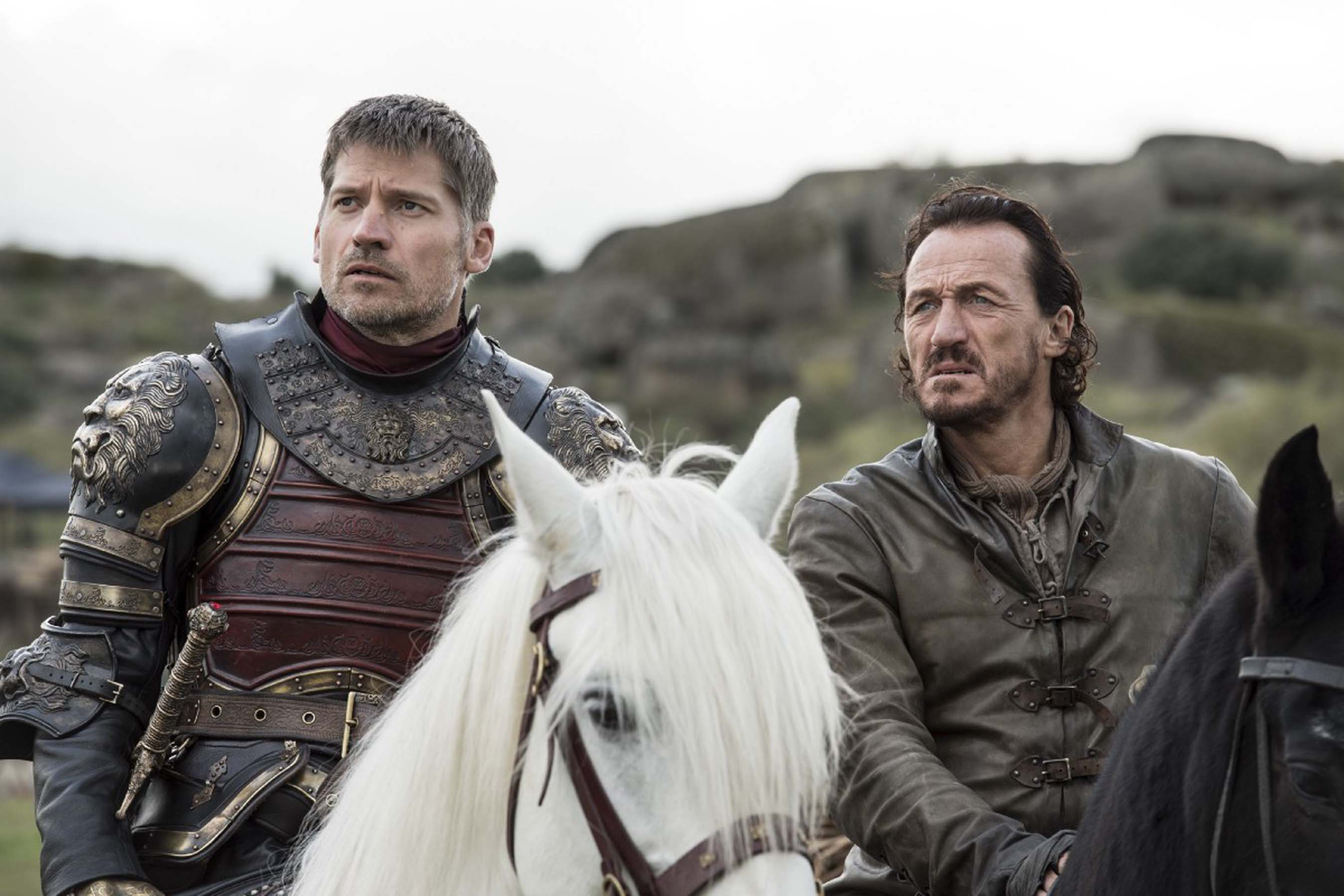 Jamie and Bronn prepare to face the Dothraki