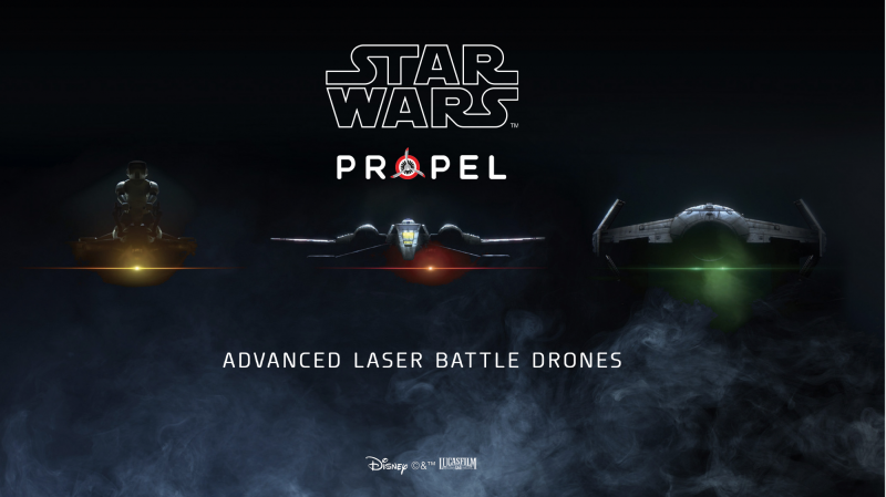 Star Wars Advanced Laser Battle Drones
