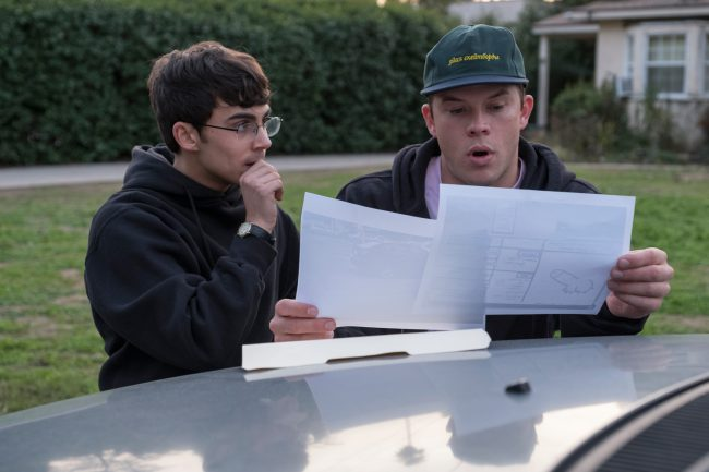 When someone spray paints phallic images on 27 faculty cars in the staff parking lot at Hanover High School, everyone immediately believes it was Dylan Maxwell (Jimmy Tatro). However, Dylan vehemently denies doing it. Classmate Peter Maldonado (Tyler Alvarez) believes him and works to clear his name.