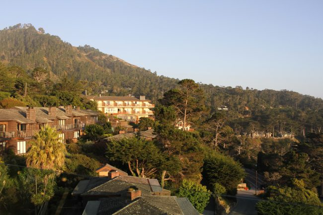 The best way for visitors to take in the view of Carmel is by visiting the Hyatt Carmel Highlands Hotel. It gives a breathtaking view of the coast.