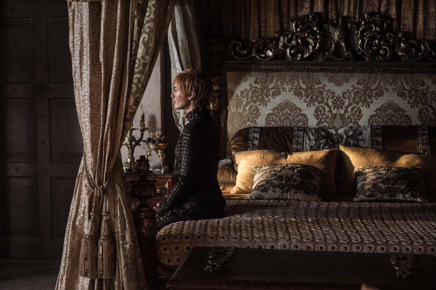 Queen Cersei has a lot on her mind