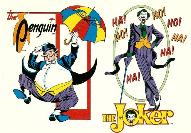Penguin is a perfect foil to Batman. While Batman uses his wealth to provide himself with technology to discombobulate his opponents, the Penguin has enough money to compete. Unlike other Batman villains, he isn't mentally disturbed, making his actions cold and calculated.  Speaking of disturbed, the Joker is Batman's archnemesis. Batman wants order, the Joker […]