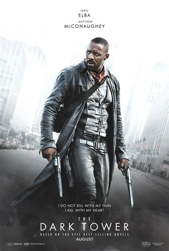 The Dark Tower film poster.