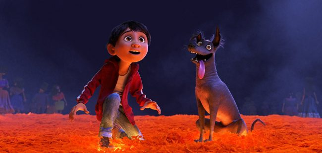 The animated film Coco tells the story of a young boy's journey through the Land of the Dead after a mysterious turn of events, where he soon discovers the truth about his family history. Release Date: November 22