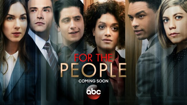 For the People follows a series of young lawyers working high-profile cases in the Southern District of New York as both the defense and the prosecution. Their professional and personal lives get mixed up together.  Premiere Date: TBA