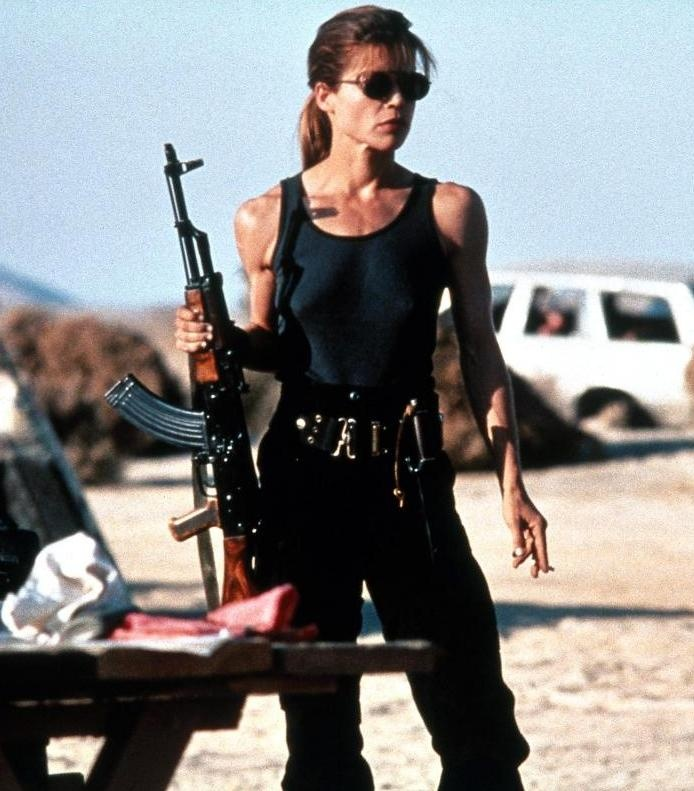 Linda Hamilton in The Terminator