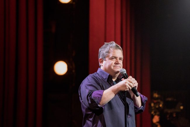 Comedian Patton Oswalt takes the stage in Chicago to discuss the current political climate, social media angst and using humor to work through grief.