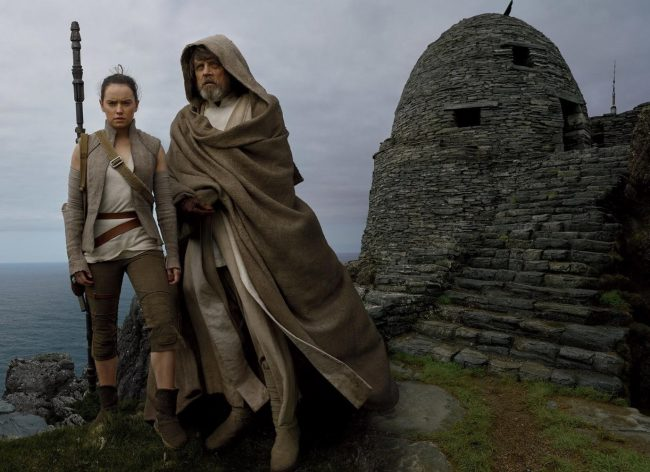 In the new installment of the much-beloved Star Wars franchise, we see the highly anticipated return of legendary Jedi Luke Skywalker (Mark Hamill), who teaches Rey (Daisy Ridley) about the Force, while allies begin the fight against villainous Kylo Ren (Adam Driver) and The First Order. Release Date: December 15