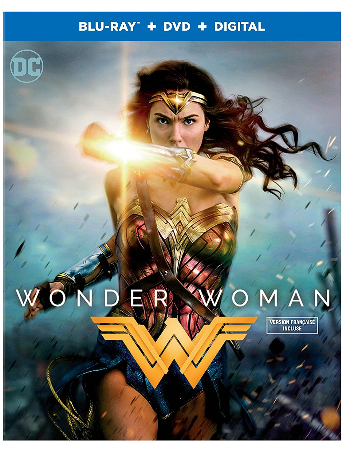 Wonder Woman on Blu-ray, DVD and Digital HD