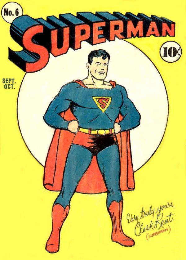 Early Superman comic