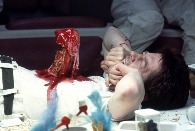 John Hurt starred in 205 films and, of those, has died 45 times. Of course, his most famous on-screen death came in the form of the iconic (and gruesome) chest-bursting scene in Alien (1979). Fun fact: his co-stars were not told the manner in which his character would die, so their reaction of pure disgust […]