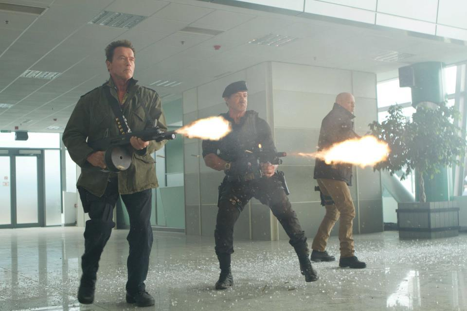 Still from The Expendables 2 (2012)