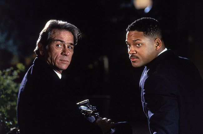Will Smith strikes movie gold again with another sci-fi adventure classic, Men in Black. The film features Will playing a new recruit in the top secret organization charged with policing Earth's resident extraterrestrials. His more loose, comedic style plays well off of co-star Tommy Lee Jones's rigid seriousness.