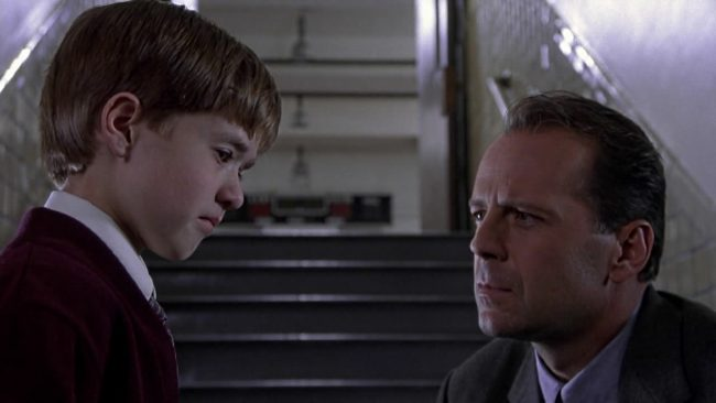 """The Sixth Sense is a psychological thriller classic and one of director M. Night Shyamalan's best films. Haley Joel Osment's scene where he says """"I see dead people"""" is one of the most recognized in cinema. And who could forget that twist ending!"""