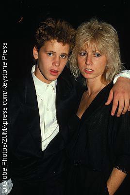 Corey Haim and his mother, Judy Haim