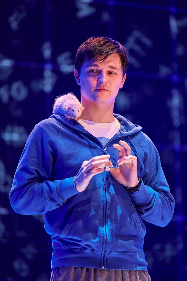 Joshua Jenkins stars in The Curious Incident of the Dog in the Nighttime
