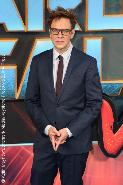 James Gunn at European gala premiere of Guardians of The Galaxy Vol. 2