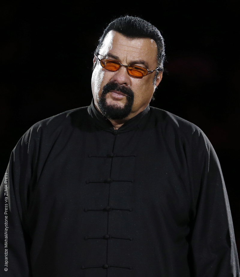 Steven Seagal accused of sexual harassment by Lisa ...
