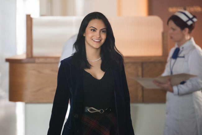 Another Riverdale actress to make our list is Camila Mendes, who sizzles on screen as the feisty Veronica Lodge.  She has what it takes to make men weak in their knees, whether in character or not.