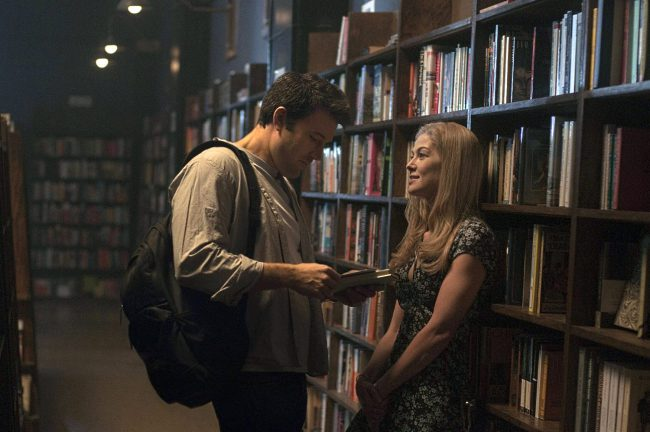 A tangled web of lies and seduction are weaved in Gone Girl (2014). Amy (Rosamund Pike) is married to Nick (Ben Affleck). While the two shared a romantic start to their love story, Nick is now having an affair and wants a divorce, while Amy wants to have a child to keep them together. When […]