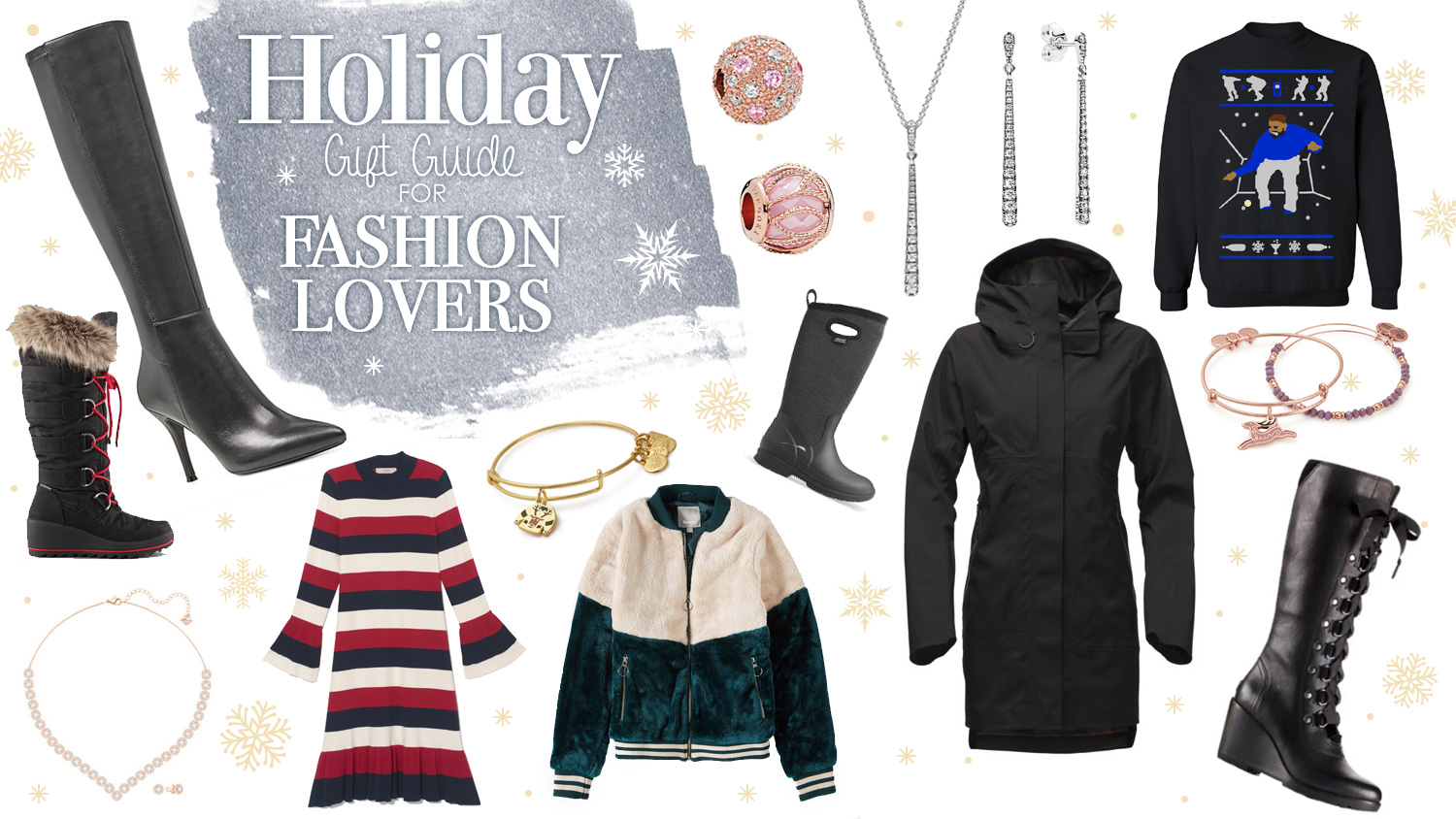 Holiday GIft Guide for the fashion lovers
