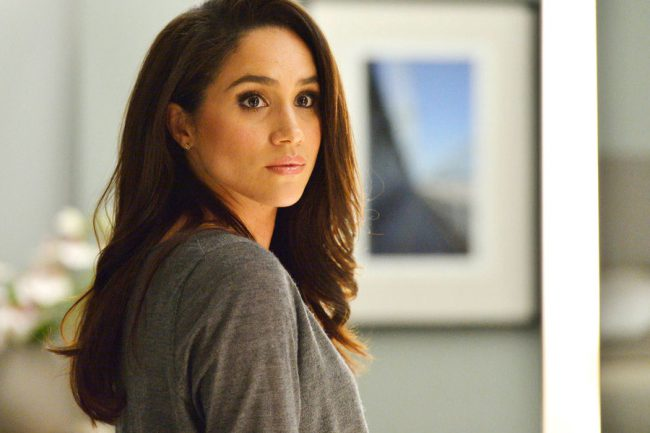 Meghan Markle plays Rachel Zane on the legal drama Suits. The brunette beauty gives the girl-next-door vibe, but can turn up the heat at any time. She's made a lot of headlines for dating Prince Harry.
