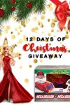 12 Days of Christmas giveaway: Day 8 - Holiday Barbie and Mega Dragon